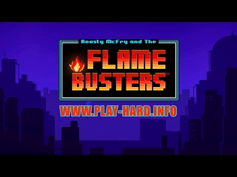Flame Busters by Thunderkick & FLAMING WIN & SUPER BIG WIN
